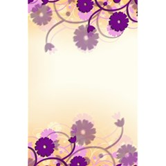Background Floral Background 5 5  X 8 5  Notebooks