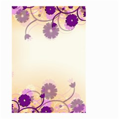 Background Floral Background Small Garden Flag (two Sides)