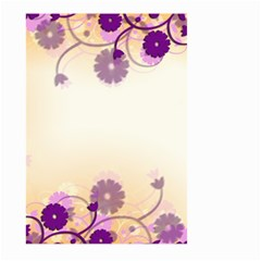 Background Floral Background Large Garden Flag (two Sides)