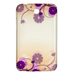 Background Floral Background Samsung Galaxy Tab 3 (7 ) P3200 Hardshell Case
