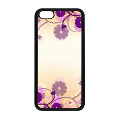 Background Floral Background Apple iPhone 5C Seamless Case (Black)
