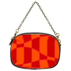 Background Texture Pattern Colorful Chain Purses (Two Sides)