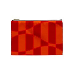 Background Texture Pattern Colorful Cosmetic Bag (Medium)