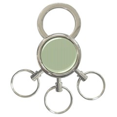 Background Pattern Green 3 Ring Key Chains