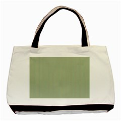Background Pattern Green Basic Tote Bag (Two Sides)