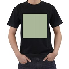 Background Pattern Green Men s T Shirt (black)
