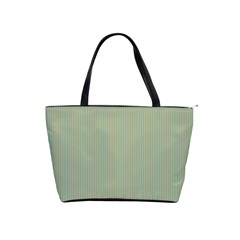 Background Pattern Green Shoulder Handbags