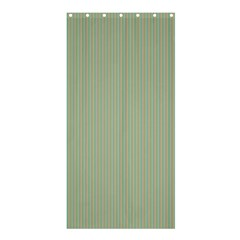 Background Pattern Green Shower Curtain 36  x 72  (Stall)