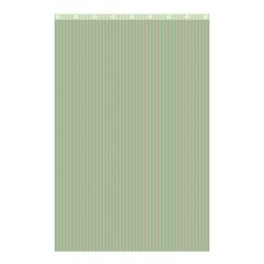 Background Pattern Green Shower Curtain 48  x 72  (Small)