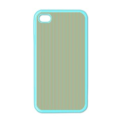 Background Pattern Green Apple iPhone 4 Case (Color)