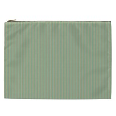 Background Pattern Green Cosmetic Bag (XXL)