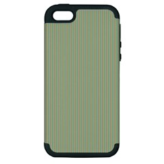 Background Pattern Green Apple iPhone 5 Hardshell Case (PC+Silicone)
