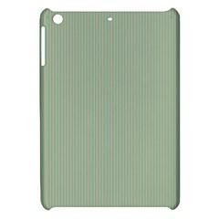 Background Pattern Green Apple Ipad Mini Hardshell Case