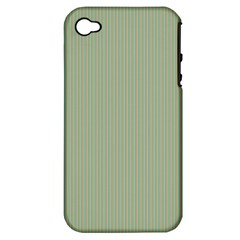 Background Pattern Green Apple Iphone 4/4s Hardshell Case (pc+silicone)