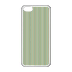 Background Pattern Green Apple iPhone 5C Seamless Case (White)