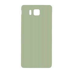 Background Pattern Green Samsung Galaxy Alpha Hardshell Back Case