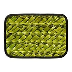 Basket Woven Braid Wicker Netbook Case (Medium)