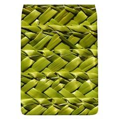Basket Woven Braid Wicker Flap Covers (L)