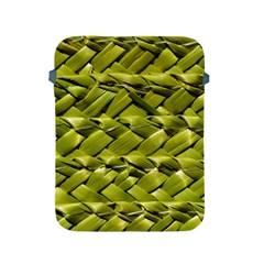 Basket Woven Braid Wicker Apple iPad 2/3/4 Protective Soft Cases