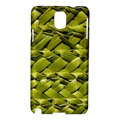 Basket Woven Braid Wicker Samsung Galaxy Note 3 N9005 Hardshell Case
