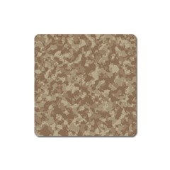 Camouflage Tarn Texture Pattern Square Magnet