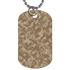 Camouflage Tarn Texture Pattern Dog Tag (one Side)