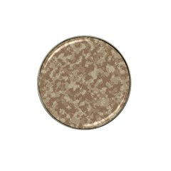 Camouflage Tarn Texture Pattern Hat Clip Ball Marker (4 Pack)