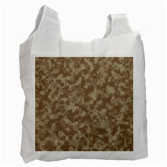 Camouflage Tarn Texture Pattern Recycle Bag (One Side)