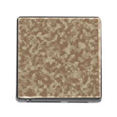 Camouflage Tarn Texture Pattern Memory Card Reader (square)