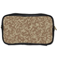 Camouflage Tarn Texture Pattern Toiletries Bags 2 Side