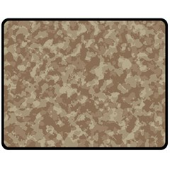 Camouflage Tarn Texture Pattern Fleece Blanket (Medium)