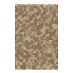 Camouflage Tarn Texture Pattern Shower Curtain 48  x 72  (Small)