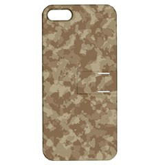 Camouflage Tarn Texture Pattern Apple iPhone 5 Hardshell Case with Stand