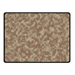 Camouflage Tarn Texture Pattern Double Sided Fleece Blanket (small)