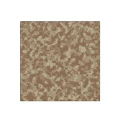 Camouflage Tarn Texture Pattern Satin Bandana Scarf
