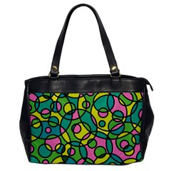 Circle Background Background Texture Office Handbags