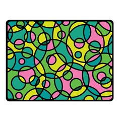 Circle Background Background Texture Fleece Blanket (Small)