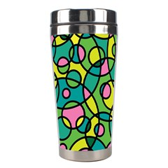 Circle Background Background Texture Stainless Steel Travel Tumblers