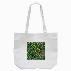 Circle Background Background Texture Tote Bag (white)