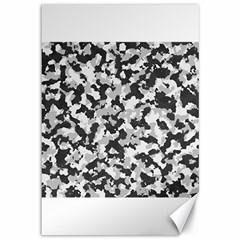 Camouflage Tarn Texture Pattern Canvas 12  X 18