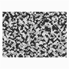 Camouflage Tarn Texture Pattern Large Glasses Cloth (2-Side)