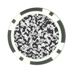 Camouflage Tarn Texture Pattern Poker Chip Card Guard