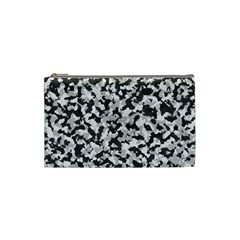 Camouflage Tarn Texture Pattern Cosmetic Bag (small)