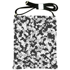 Camouflage Tarn Texture Pattern Shoulder Sling Bags