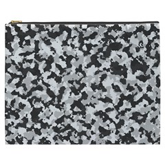Camouflage Tarn Texture Pattern Cosmetic Bag (xxxl)