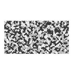 Camouflage Tarn Texture Pattern Satin Wrap