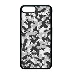 Camouflage Tarn Texture Pattern Apple iPhone 7 Plus Seamless Case (Black) Front