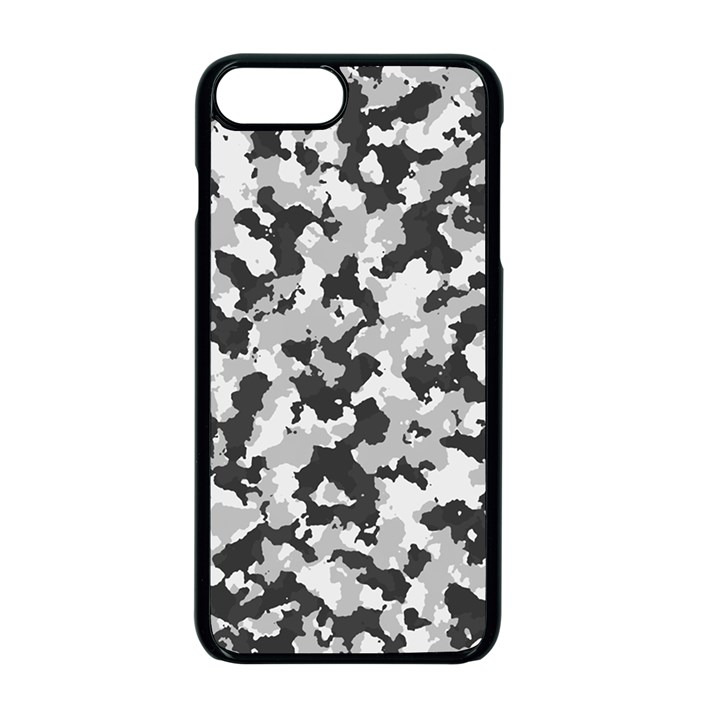 Camouflage Tarn Texture Pattern Apple iPhone 7 Plus Seamless Case (Black)