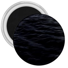 Dark Lake Ocean Pattern River Sea 3  Magnets