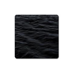 Dark Lake Ocean Pattern River Sea Square Magnet